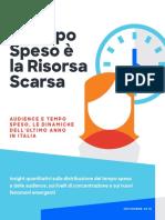 Ricerca Comscore 2019 Audience e Tempo Speso Online