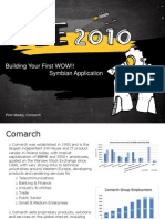 Building Your First WOW!! Symbian Application