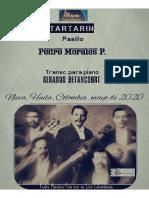 TARTARIN. Pasillo. Pedro Morales Pino. Transc. piano Gerardo Betancourt.