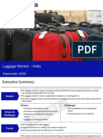 Luggage Market in India 2010 Sample 100930073318 Phpapp01