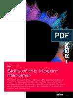 Econsultancy-Skills of the Modern Marketer