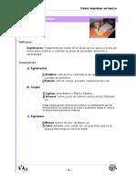 Tecnicas Artisticas - Como Imprimar Lienzos Para Oleo o Acrilico