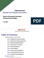 Valid Metrics Framework