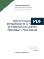 Los Recursos Para el Aprendizaje en Primer Grado.docx
