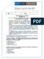 SSOMA Examen - Módulo 9