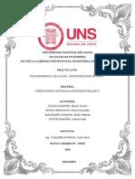 Práctica N6 Tranferencia de Calor Pasteurizador de Placas