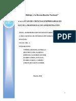 Administración de Inventarios