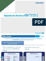 Manual depósito efectivo banco ciudad