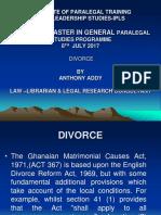 Divorce Dnm