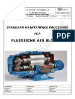 Smp for Fluidizing Air Blower