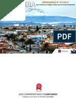 Resumen Ejecutivo Codigo Urbano del cantón Riobamba