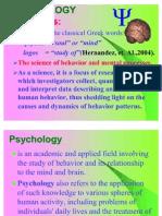 1 General Psychology
