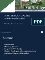 Sturbridge Master Plan Presentation 11-18-10