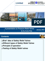 Safety Relief Valves-Presentation by EIL