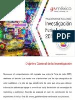 Estudio Feria León 2019