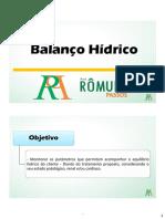 Balanco Hidrico