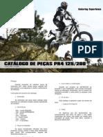AJP MOTOS - PR4 Lista de Peças 125/200