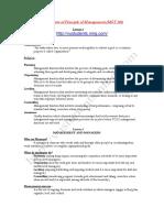 MGT 503 SHORT NOTES