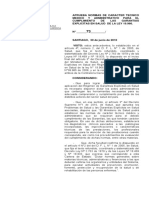 Decreto Nº 73 de 2010 Aprueba Normas Técnico Médico Administrativa