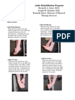 Lower Extremity Physical Therapy Exercises