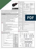 E3FA Photoelectric Sensor With Adjustable Distance - 英