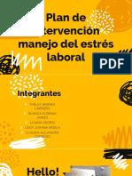 Manejo Del Estres Laboral