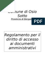 to Per Il Diritto Di Accesso Ai Documenti Amministrativi