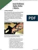 Rede Neonazi Italiana Desmantelada Tinha Ligações a Mário Machado