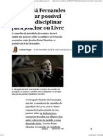 Ricardo Sá Fernandes Vai Analisar Possível Actuação Disciplinar Para Joacine Ou Livre