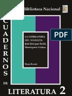 Cuaderno de Literatura 2 La Literatura Al Margen