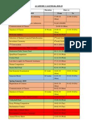 Cpp Academic Calendar 2022.Academic Calendar Academic Term Graduation