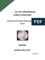 7. Lilith. Andrea Mella