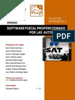 Unidad 4. Software Fiscal Proporcionado Por Las Autoridades