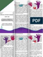 Actividad de Aprendizaje 2. Los Derechos Humanos en La Administración de Negocios Folleto
