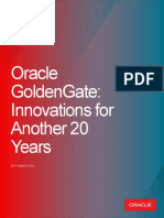 Oracle GoldenGate Innovations for Another 20 Years