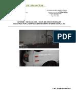 Valuacion de Vehiculos de Brandsmart Inter. Sac Abril 2018