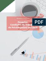 Relatório Sintético - Pesquisa Condições de Trabalho de Psicólogas(os) no Ceará