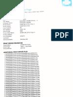 Windows Printer Test Page