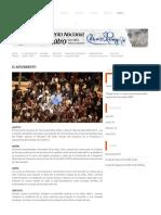 El Movimiento ~ Movimiento Nacional de Teatro Cesar Rengifo
