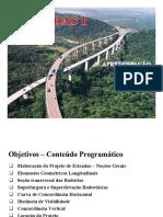 1-Estradas I_Unidade01 (Conceitos Gerais) Aula 1