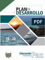 Plan de Desarrollo Suarez Cauca 2016 2019