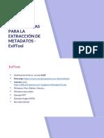 Herramientas Para La Extracción de Metadatos - ExifTool