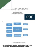Administracion-La Toma de Decisiones