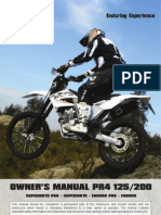 AJP MOTOS - PR4 User Manual