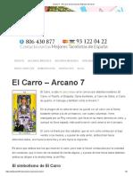Arcano 7 - El Carro de Los Arcanos Mayores Del Tarot