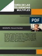 Diapositiva Inteligencias Multiples