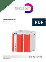 Technical Instructions BioTec Plus 06 2017pdf