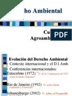 Derecho Ambiental y Cuestiones Agroambientales I