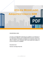 Experto Modelado Arquitectonico BIM