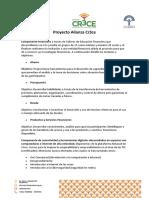 Proyecto Alianza Cr3ce